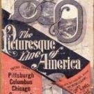Baltimore And Ohio Train Tin Sign #1448
