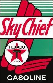 Texaco Motor Oil Tin Sign #805