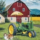 John Deere Tractor Tin Sign #1120