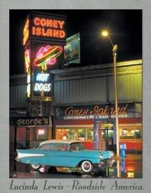 Coney Island Hot Rod Diner Tin Sign #956