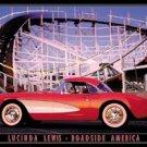 Roller Coaster Hot Rod Tin Sign #896
