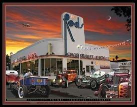 Hot Rod Crankshaft Motors Tin Sign #1274