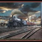 Train Locomotive Railroad Tin Sign #1276
