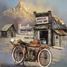 Indian Motorcycle Tin Sign #1030