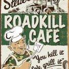 Roadkill Cafe Tin Sign #1416