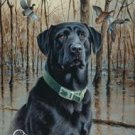 Ducks Unlimited Black Retrievers Tin Sign #1203