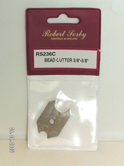 "Sorby 3.8 - 5.8"" Bead Cutters Woodturning Tools RS236C"