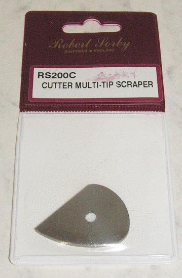 SORBY  Medium Teardrop Scraper Cutter Wood Turning RS200C