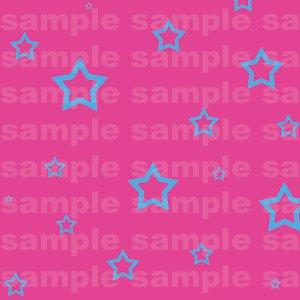 Miffle Stars - 12x12 - Pink Background