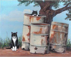 Cats and Barrels