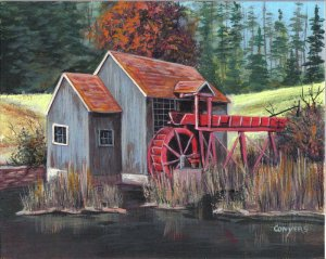 Gray Mill painting