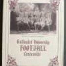 Gallaudet University Football Centennial 1994 Book