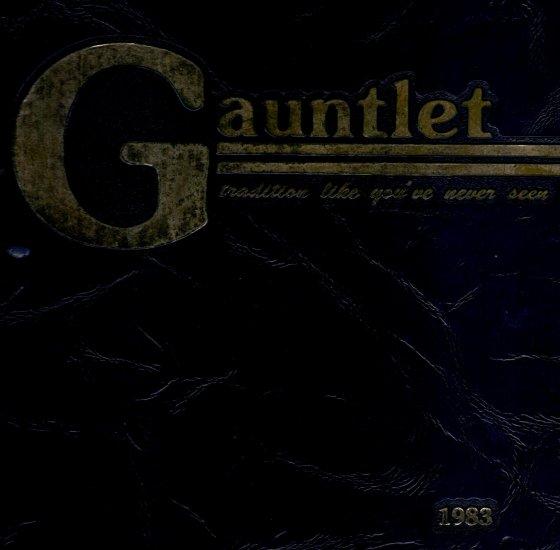 Gauntlet, Channelview High School 1983 Yearbook (Texas)