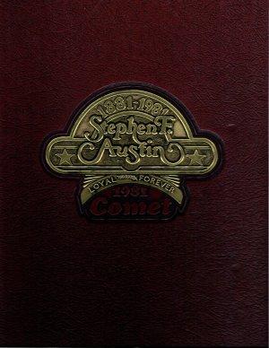1981 Comet, Stephen F. Austin High School, Austin, Texas Yearbook