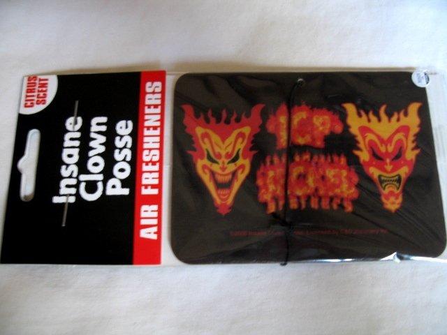 ICP Insane Clown Posse Air Freshener Flames Juggalo Punk Hatchetman
