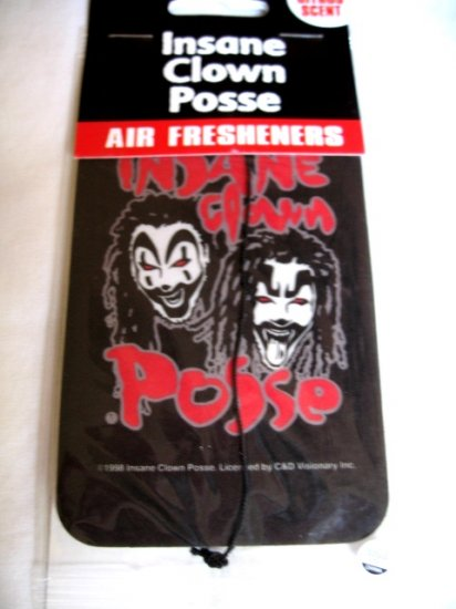 ICP Insane Clown Posse Air Freshener Clown Faces Juggalo Punk Hatchetman
