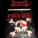 Skull Pirate Girl Air Freshener Red & Black Punk Emo Goth Design