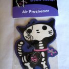 Kitty Bones Air Freshener Pink Black Punk Emo Goth Design