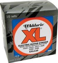 EXL110 Regular Light Gauge Electric Guitar Strings ProPack