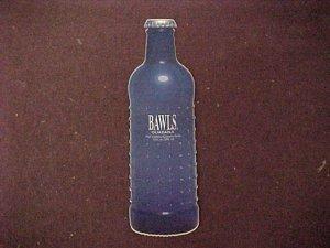Bawls Bottle Shaped Stickers