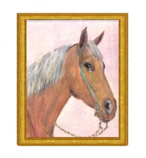 Portrait of a Thoroughbred