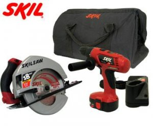 18 VOLT CORDLESS DRILL & SAW COMBO KIT   MSRP: $229.99