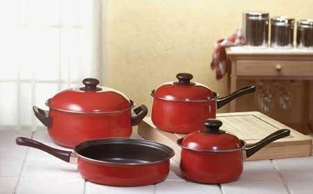 NON-STICK COOKWARE SET MSRP:$44.95