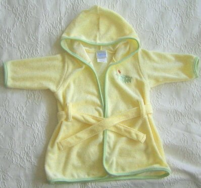 Infant Boy / Girl - Swimwear / Robe - Coverup with Hood  - Carter�s  - Size 0-9 mos. - Like NEW
