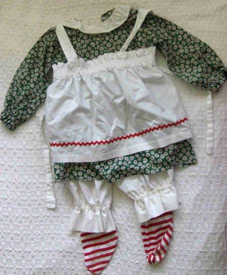 Halloween Costume Girls� - Raggedy Ann - Handmade - Size 3-4 Years