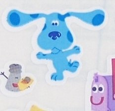 Sandylion Stickers - Assorted Blue's Clues-  NEW