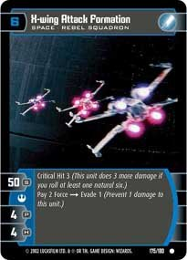 #175 X-Wing Attack Formation