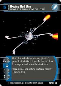 #172 X-Wing Red One
