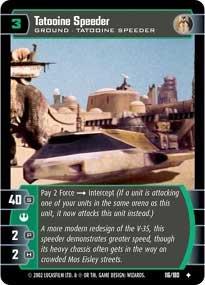#116 Tatooine Speeder