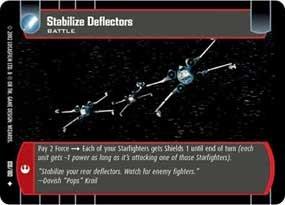 #108 Stabalize Deflectors