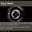 #76 Error in Judgment