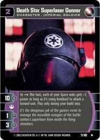 #71 Death Star Superlaser Gunner