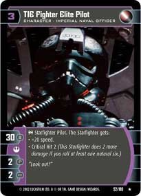 #52 TIE Fighter Elite Pilot