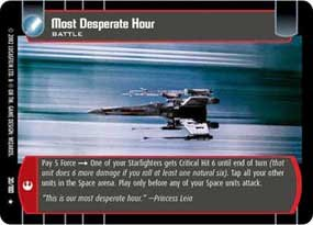 #30 Most Desperate Hour