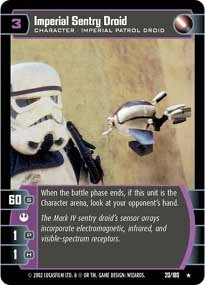 #20 Imperial Sentry Droid