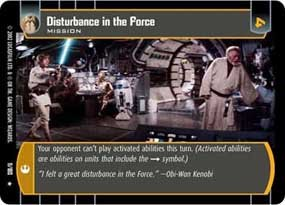 #11 Disturbance in the Force
