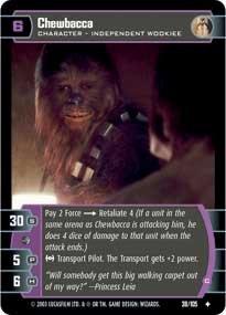 #38 Chewbacca (C)