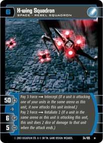 #34 X-Wing Squadron