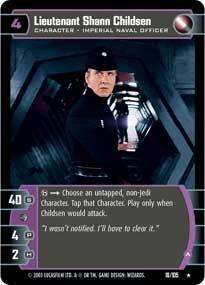 #18 Lieutenant Shann Childsen (A)
