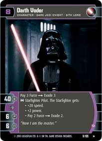 #9 Darth Vader (D) (BoY rare) Star Wars TCG