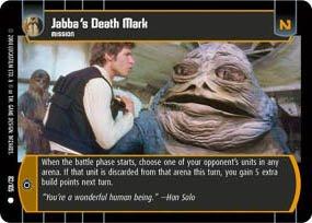 #82 Jabba's Death Mark