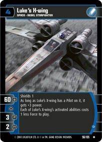 #56 Luke's X-wing (D)
