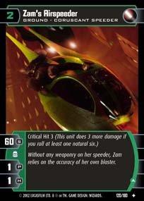 #120 Zam's Airspeeder (A) AOTC