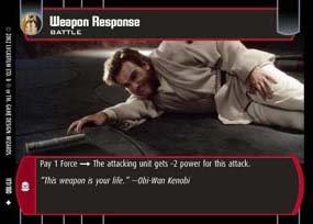 #117 Weapon Response AOTC