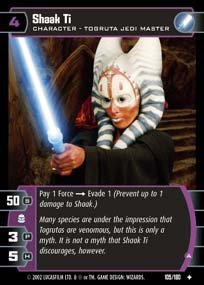 #105 Shaak Ti (A) AOTC