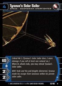 #053 Tyranus's Solar Sailer AOTC